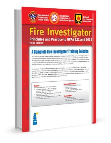 posht jld FIRE INVESTIGATOR PRINCIPLES AND PRACTICE TO NFPA 921 AND 1033