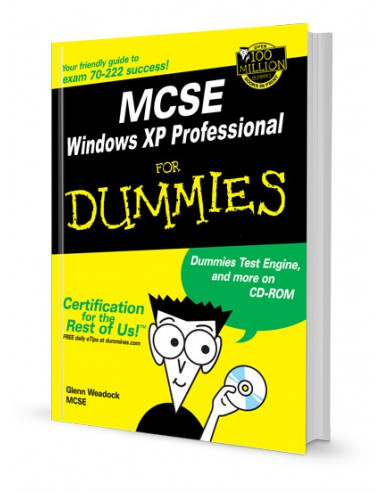 MCSE WINDOWS XP PROFESSIONAL FOR DUMMIES